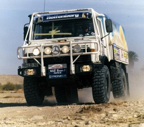 Unimog U1300L Paris Dakar 1984