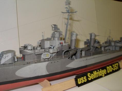 uss Selfridge DD-357