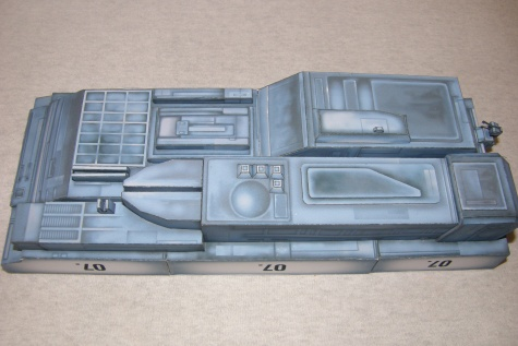 USS SULACO  by Jimam / Jan Rükr / 1:430