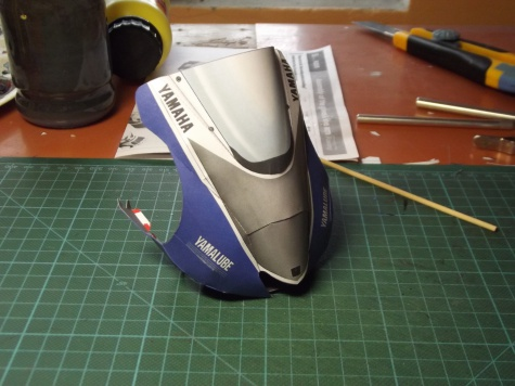 Valentino Rossi,moto Yamaha YZR-M1