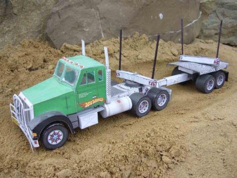 Vánoční kamion+vlastní úprava