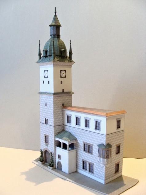 věž radnice Kyjov