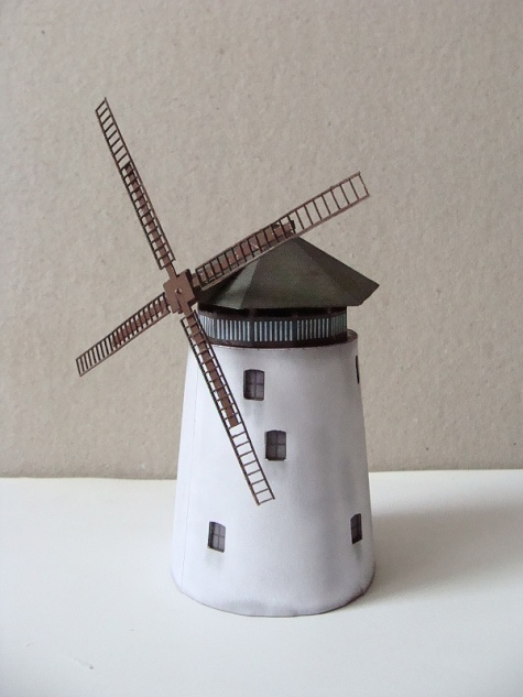 větrný mlýn Bukovany