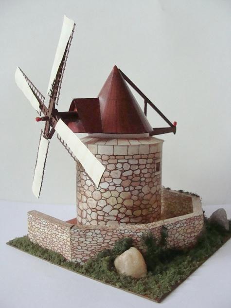 větrný mlýn - Francie
