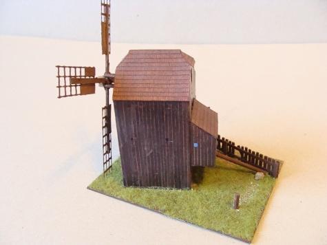 větrný mlýn Klobouky