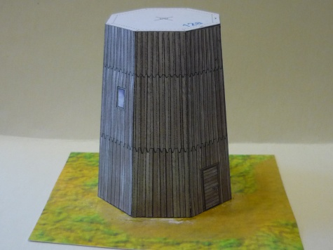 Větrný mlýn v Suché