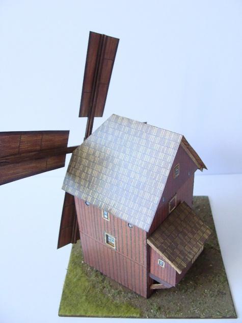 větrný mlýn ze Slezka (Borovnice)