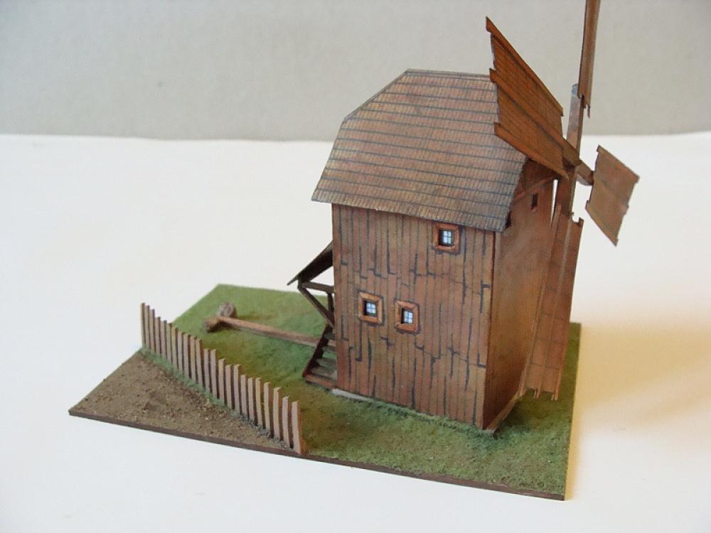 větrný mlýn z Gottwaldovska