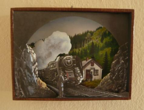 Vjezd vlaku do tunelu