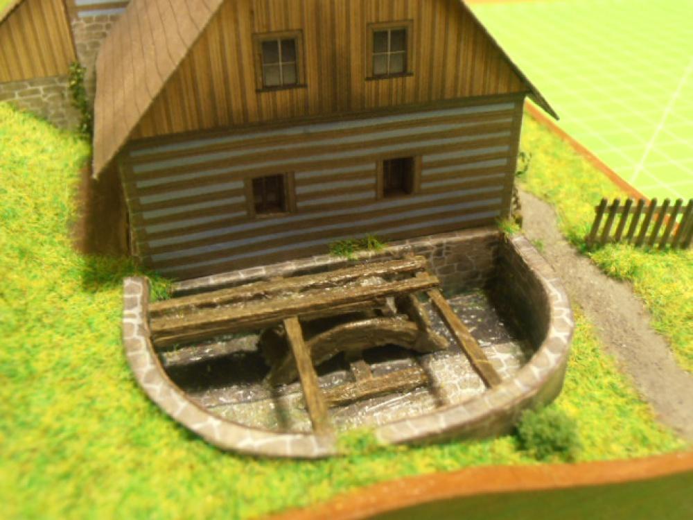 Vodní mlýn Zubrnice
