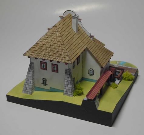 Vodný mlyn z Oravy