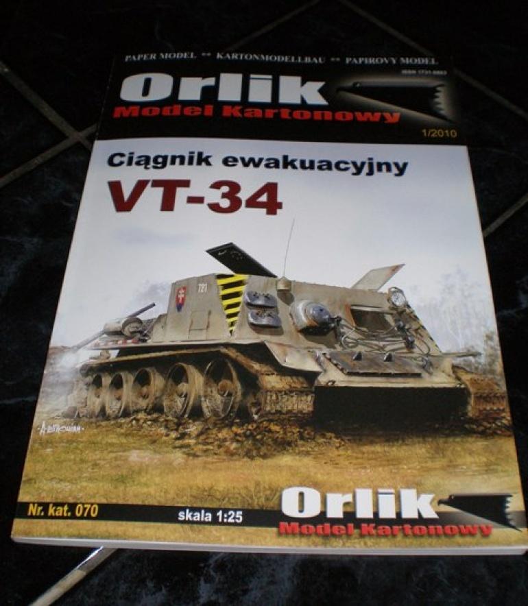 VT 34 vyprošťovací tank