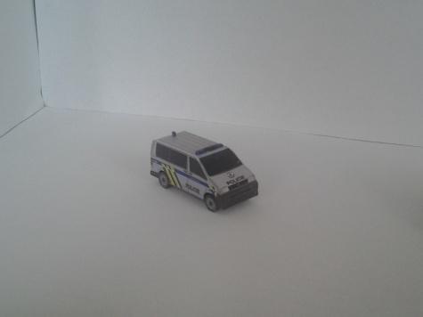 VW Transporter T5 Policie a Zdravotnická záchranná služba Kraje Vysočina