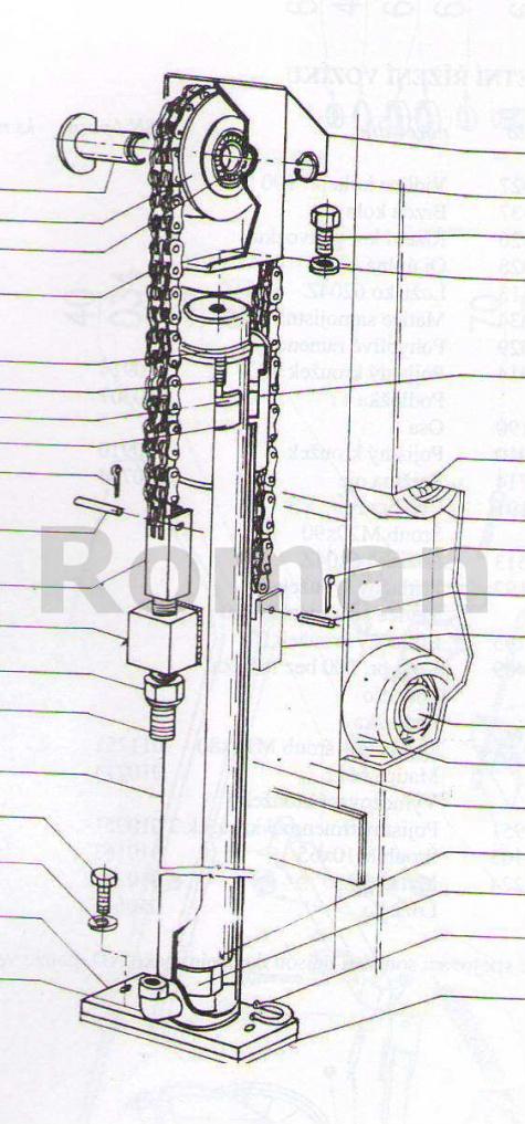 Vysokozdvižný vidlicový vozík-ručne vedeny s ručním zdvihem