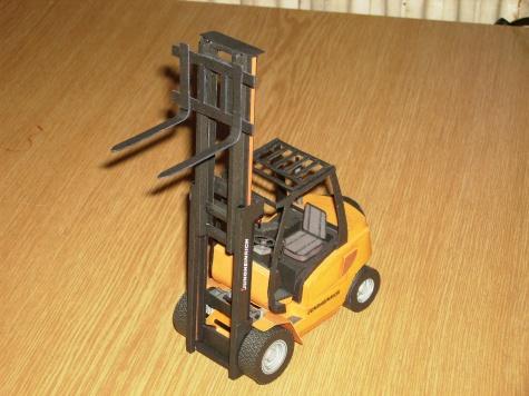 Jungheinrich - vysokozdvižný vozík