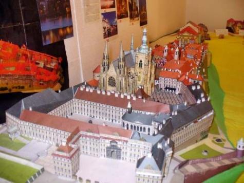Výstava hradů v Třeboni