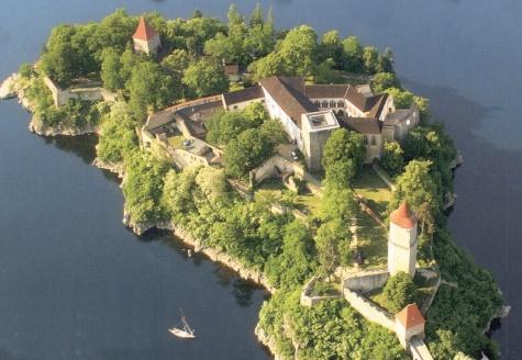 Vývojový model rekonstrukce hradu Zvíkov
