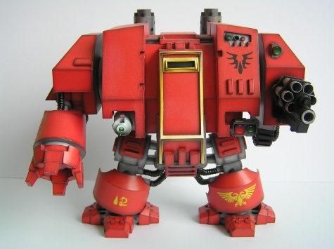 Warhammer 40K Space Marine Dreadnought Mk V