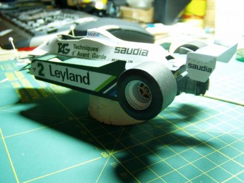 Willams FW07c