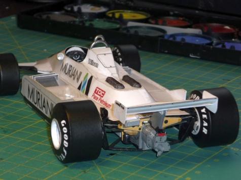 Williams FW 07 - Desire Wilson - Anglie 1980