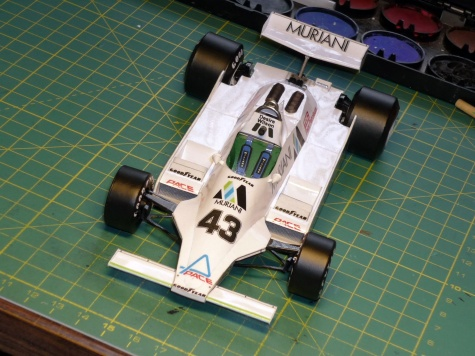 Williams FW 07 - Desire Wilson - Anglie 1980