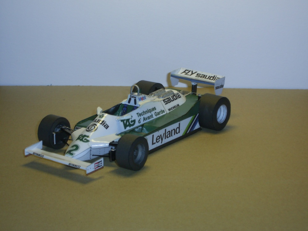 WILLIAMS FW-07C  Carlos Reutemann 1981