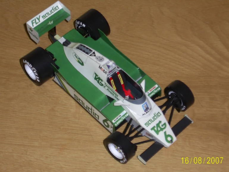 WILLIAMS FW 08  K.Rosberg 1982