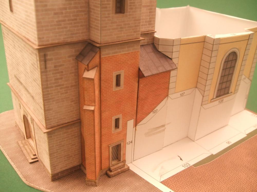 Bílá věž a kaple sv.Klimenta