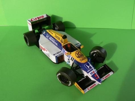 WILLIAMS FW 11-Nigel Mansell,GP Belgie
