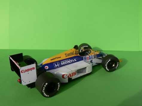 WILLIAMS FW 11-Nigel Mansell,GP Belgie