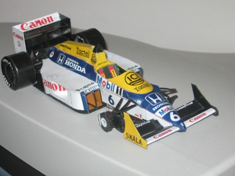 Williams FW 11B N.Piquet GP Hungaria 1987