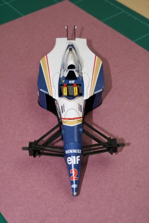 Williams FW-16, 1994 GP Francie - Nigel Mansell