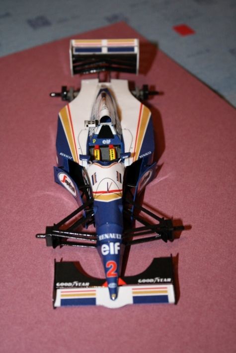 Williams FW-16, 1994 GP Francie - Nigel Mansell