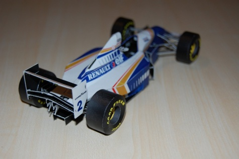 Williams FW-16  Nigel  Mansell