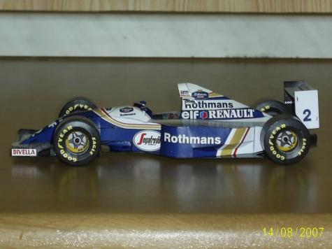 Williams FW-16 D.Hill+A.Senna 1994