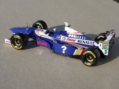 Williams FW 19 - Jacques Villneuve - Francie 1997