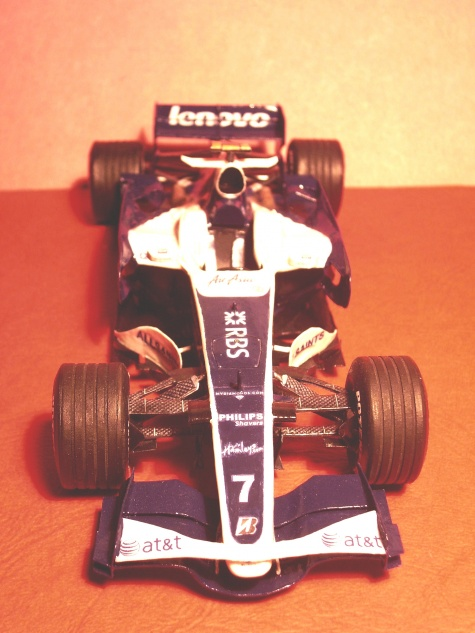 Williams FW 30, Nico Rosberg, GP Spain, 2008