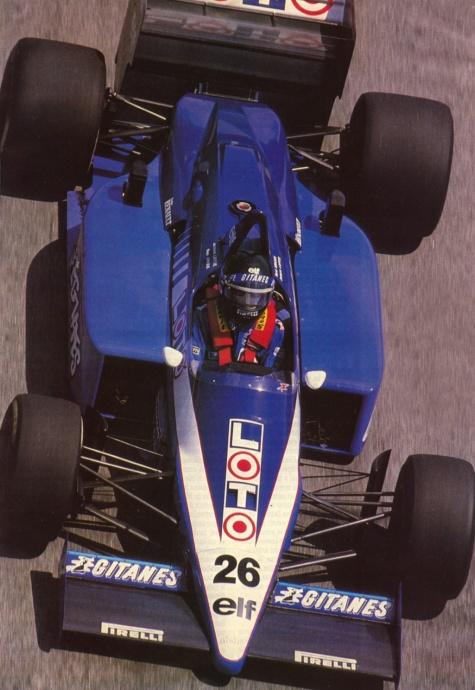 Formule 1 - podklady