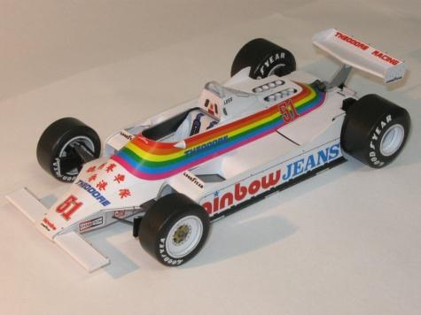 Williams FW07, 1980, G. Lees, GP USA - kvalifikace