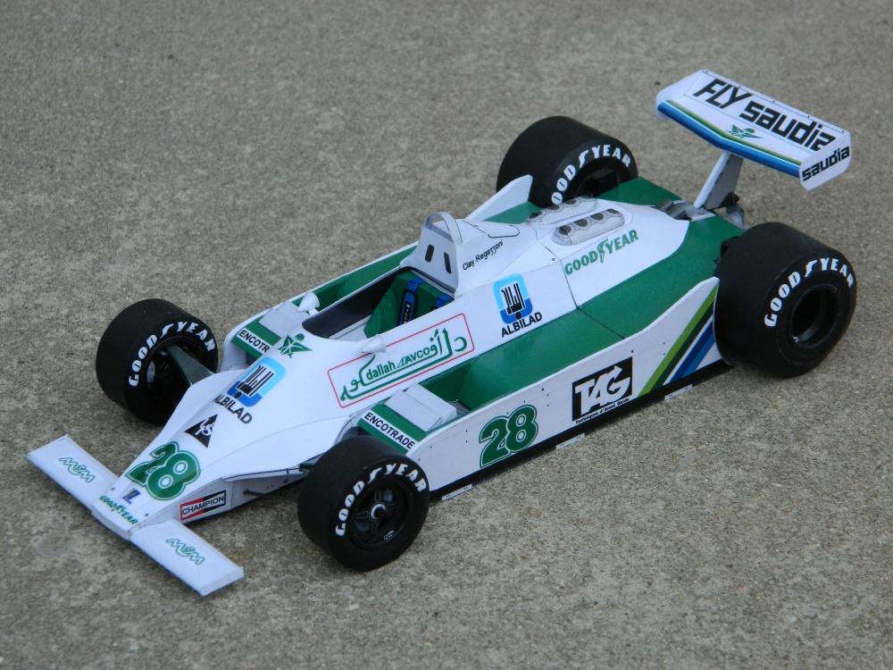 WILLIAMS FW07 C.Regazzoni British GP 1979