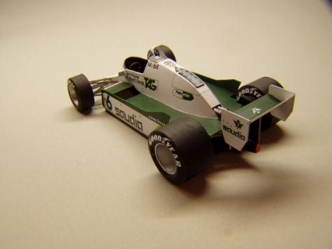 Williams FW08, 1982, Keke Rosberg