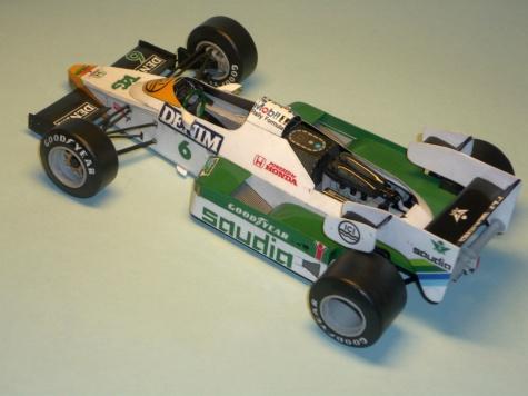 Williams FW09 - Keke Rosberg - GP Brazilie 84