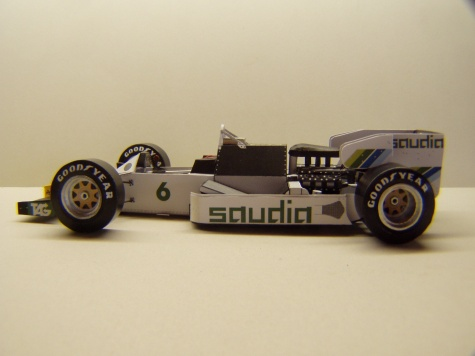 Williams FW09, 1984, K. Rosberg, GP USA Dallas