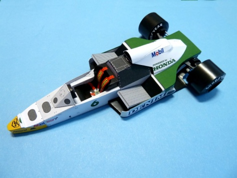 Williams FW09B Honda British GP ´84 K.Rosberg
