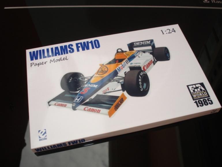 Williams FW10 Nigel Mansell 1985