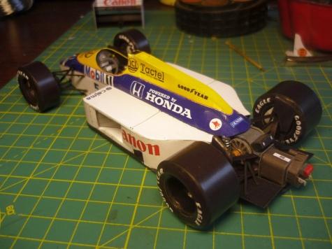 Williams FW11 - Nigel Mansell - Belgie 86