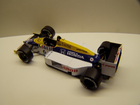 Williams FW11, 1986, N. Piquet