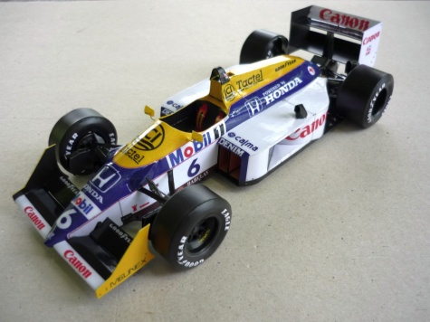 Williams FW11B - Nelson Piquet - Brazilie 87
