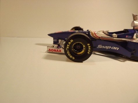 Williams FW19, GP England 1997