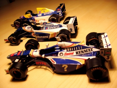 Williams FW19 Renault - Villeneuve - GP Magny Cours